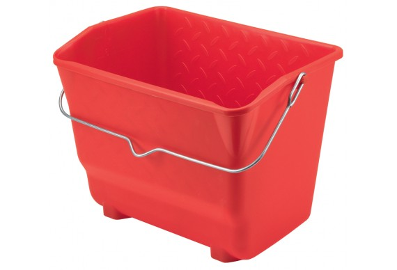 """Camion rectangulaire """"ASTUSSO"""" rouge 7 litres"""